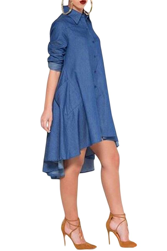 Simple 13V0014_400_Blue_Berry_Van_Heusen_Womens_Dress_Shirts_Womens_Ladies
