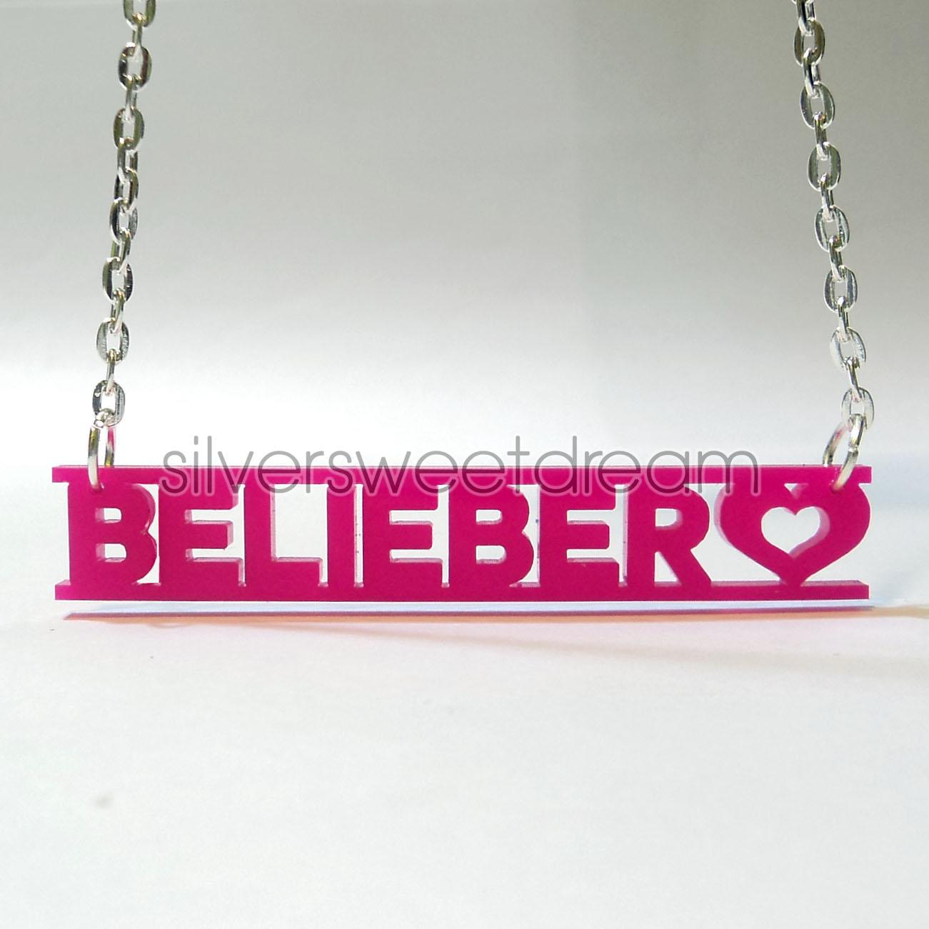Collana Justin Bieber Belieber Infinity