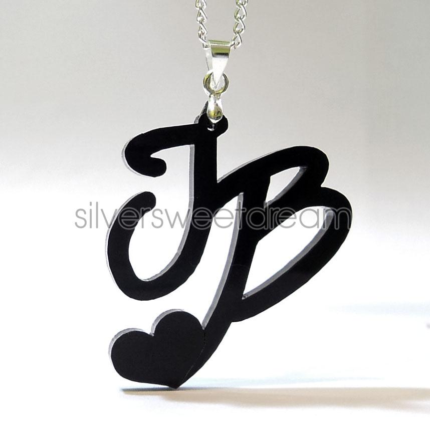 Justin Bieber Necklace Belieber Infinity Pendant Love Infinite