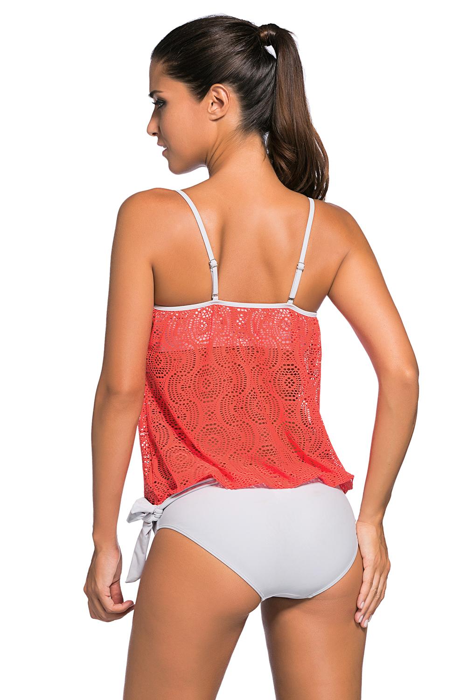 7c614541e8d4c 2pcs bandeau tankini swimsuit summer swimwear sets brief sexy print ...