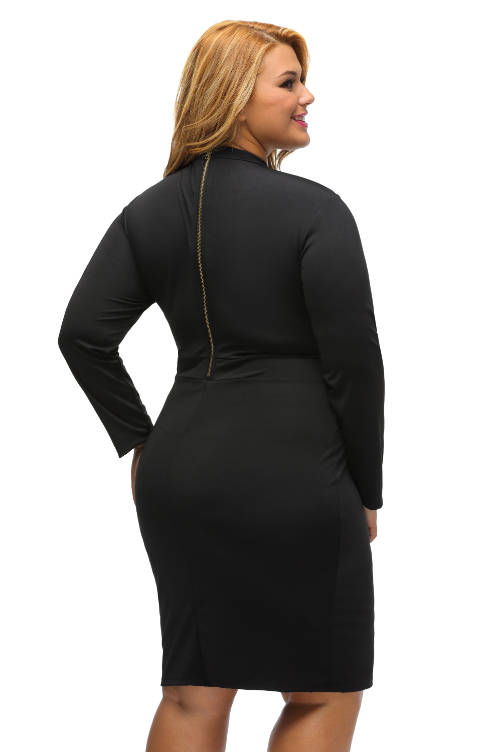 Cute maternity sleeves dresses long bodycon with plus size neckline shapes