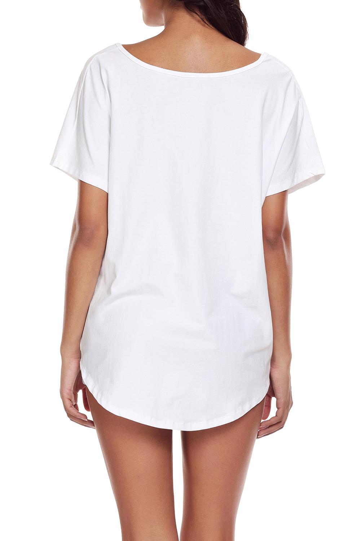 Weisses-drapiertes-vorderes-knoten-oberteil-bluse-shirt-damen