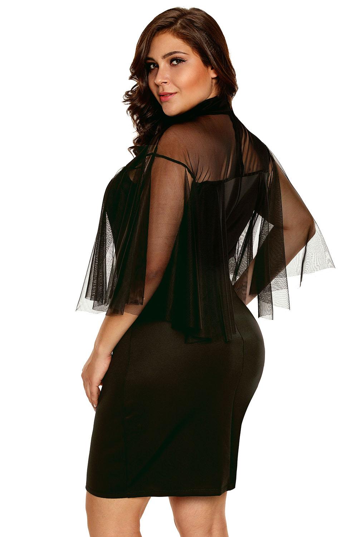 Vestito donna da sera cerimonia tubino elegante al ginocchio semi ... f2d0e243fd7