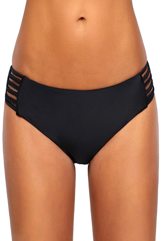 Parte-inferior-de-bikini-con-tira-lateral-de-bikini-negro-traje-de-bano-mujer